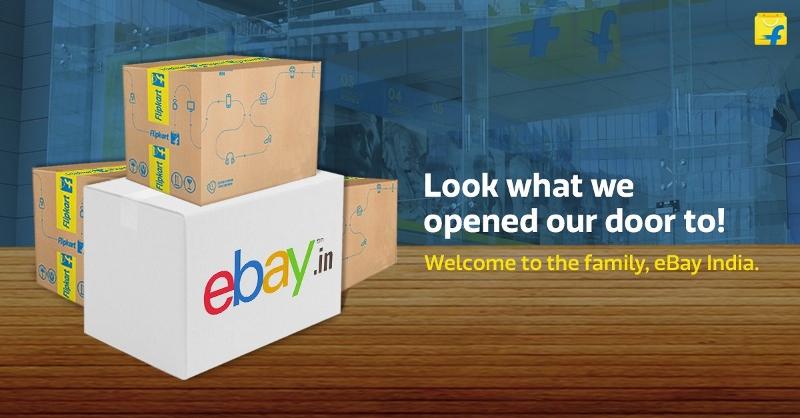 Flipkart eBay India merger