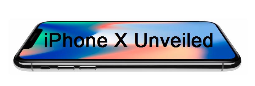 Apple iPhone X Unveiled