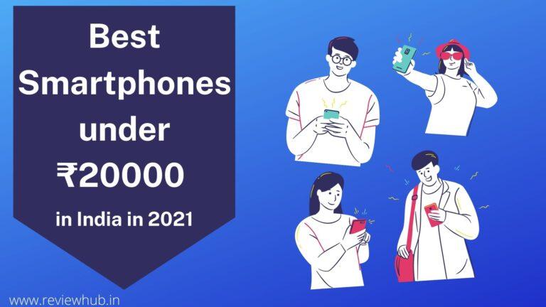 Best Smartphones under ₹20000