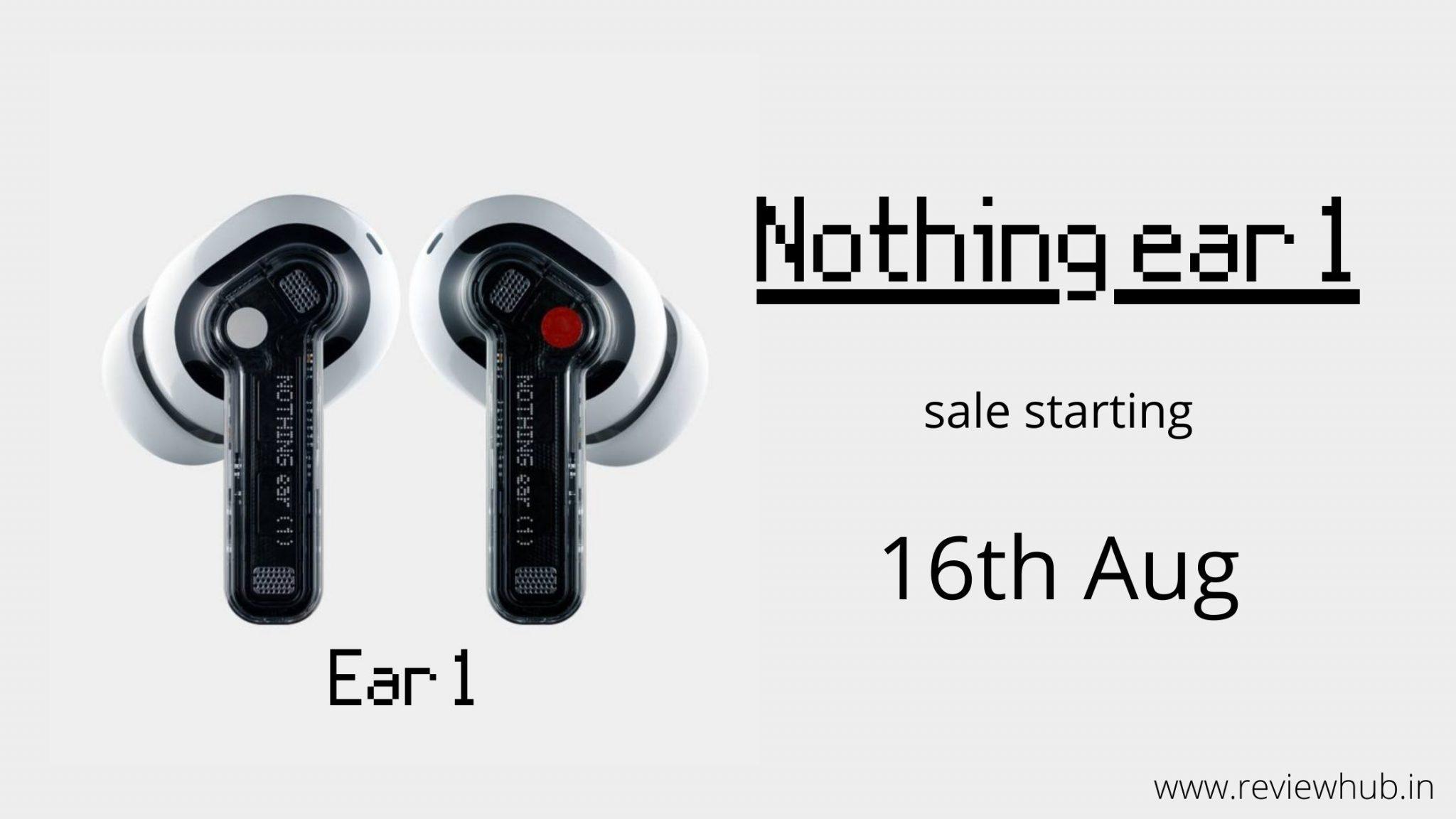 Ear 1 tws earbud